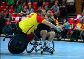 Handball en fauteuil : Une découverte pleine de surprise
